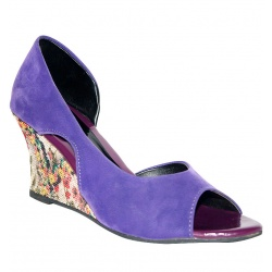 fiorella purple peep toes apparel accessories shoes